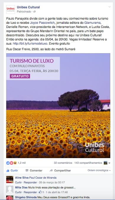 Unibes Cultural - 30.03.2016