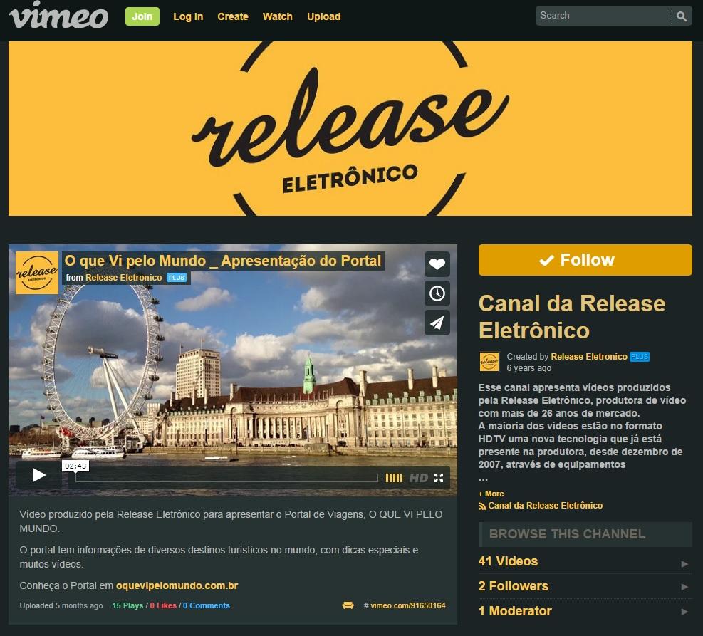 Release Eletrônico