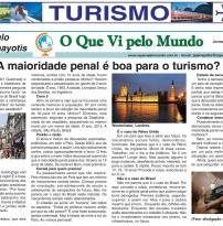 A maioridade penal é boa para o turismo?
