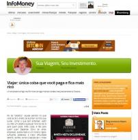 Infomoney - Sua viagem, seu investimento