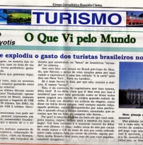Por que explodiu o gasto de turistas brasileiros no exterior?