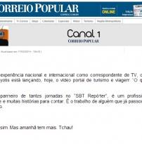 Coluna Canal 1 - Correio Popular