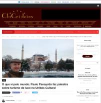 Paulo Panayotis faz palestra sobre turismo de luxo na Unibes Cultural