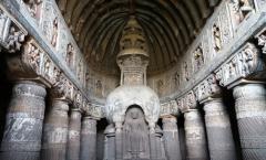 Grutas de Ajanta: 800 anos de Budismo
