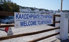 Mykonos, balada, praia e mitologia