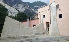 Colonnata e seu mármore de carrara