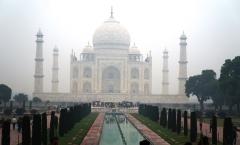 Taj Mahal, uma das maravilhas do mundo!