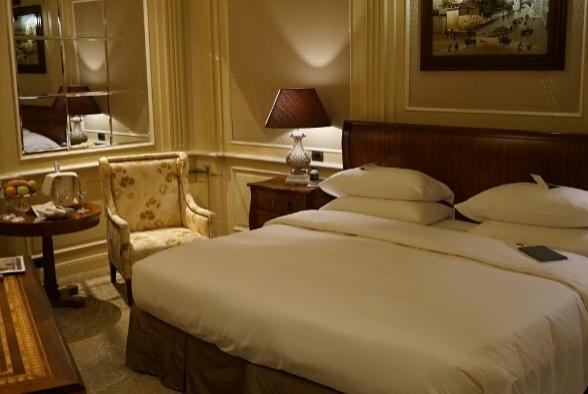 Experiência no hotel Principe di Savoia