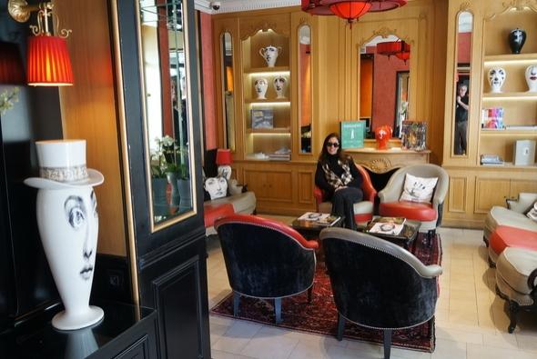 Experiência no Hotel Observatoire em Paris