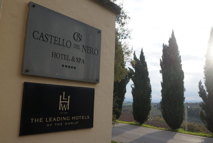 Castelo encantado na Toscana
