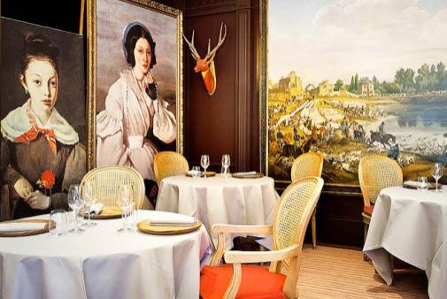 Restaurante Le Corot - Estrela Michelin - Ville D`Avray