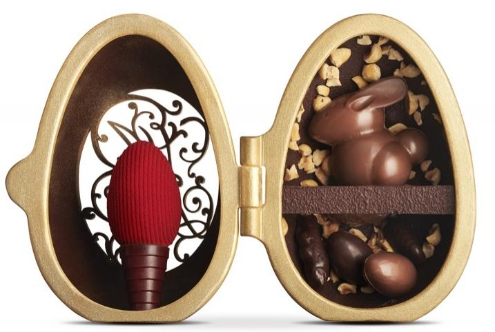 Chocólatras: caixinha de tesouros na Páscoa!